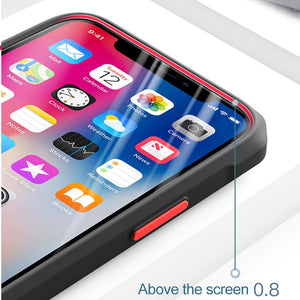 iPhone 12 Pro Max Durable Shockproof Refraction Fiber Case