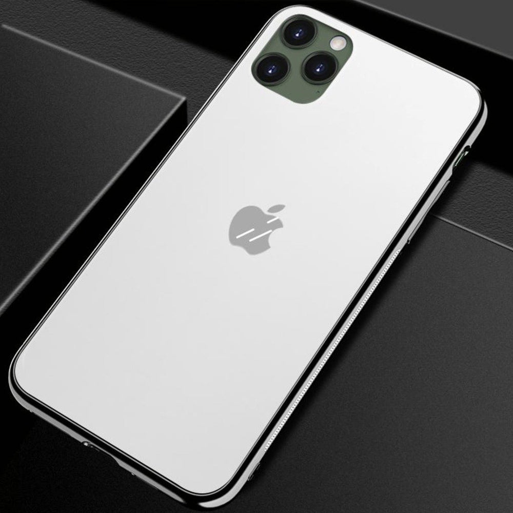 Load image into Gallery viewer, iPhone 12 Soft Edge Matte Finish Glass Case