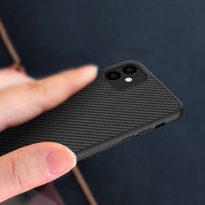 Load image into Gallery viewer, iPhone 12 Mini Synthetic Carbon Fiber Case