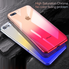 Load image into Gallery viewer, Baseus ® iPhone 8 Aura Gradient Glaze Case