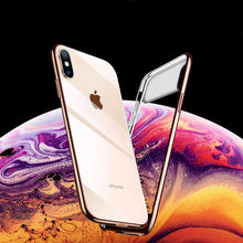Load image into Gallery viewer, TOTU ® iPhone XS Polarized Lens Mirror Transparent Case