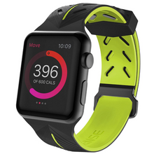 Load image into Gallery viewer, X-Doria ®  Series 3 42mm Silicone Wrist Band for Apple Watch (ONLY STRAP NOT WATCH)