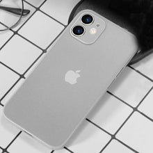 Load image into Gallery viewer, iPhone 12 Ultra-Thin Matte Paper Back Case