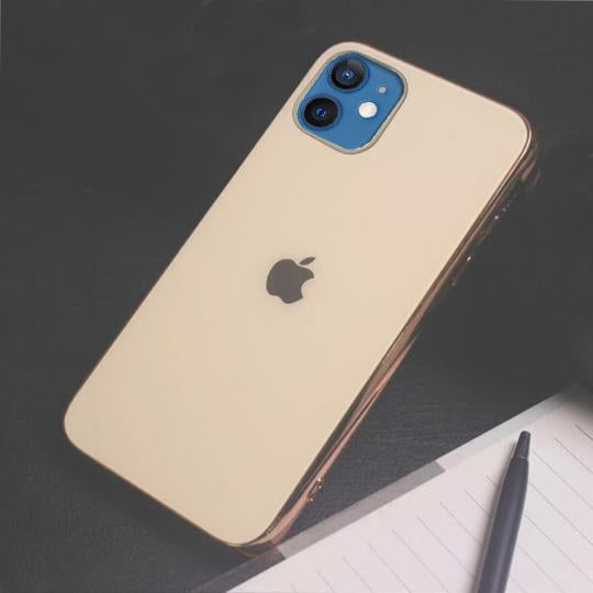 iPhone 12 Mini Soft Edge Matte Finish Glass Case