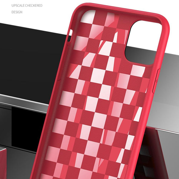 Henks Upscale Check Design Case Cover for iPhone 11