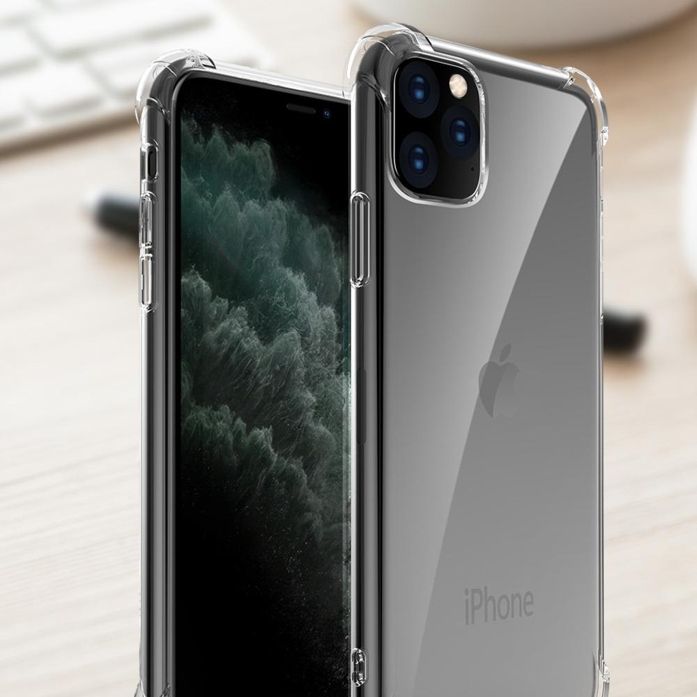 iPhone 11 Cover Anti-Knock TPU Transparent Case