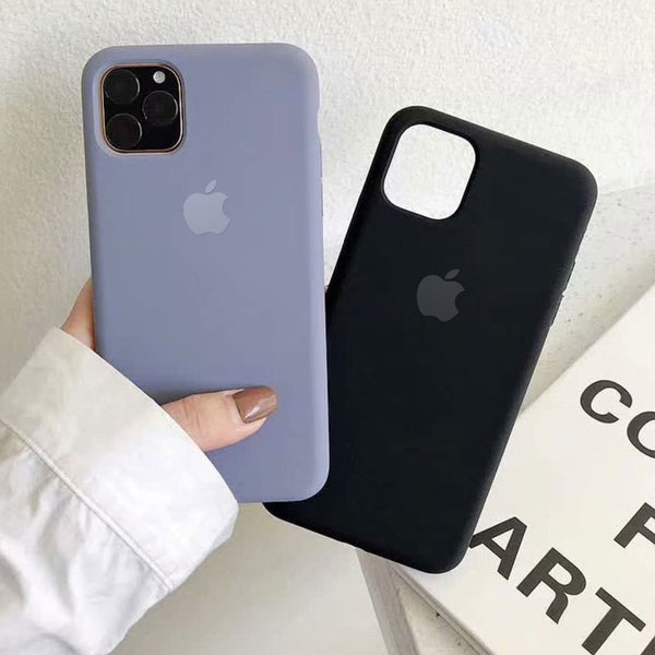 Original LOGO Silicone Case Cover iPhone 11 Pro