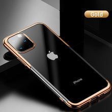Load image into Gallery viewer, Ultra-Thin Transparent Sparkling Edge Case Cover For  iPhone 11