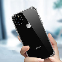 Load image into Gallery viewer, iPhone 11 Pro Anti-Knock TPU Transparent Case