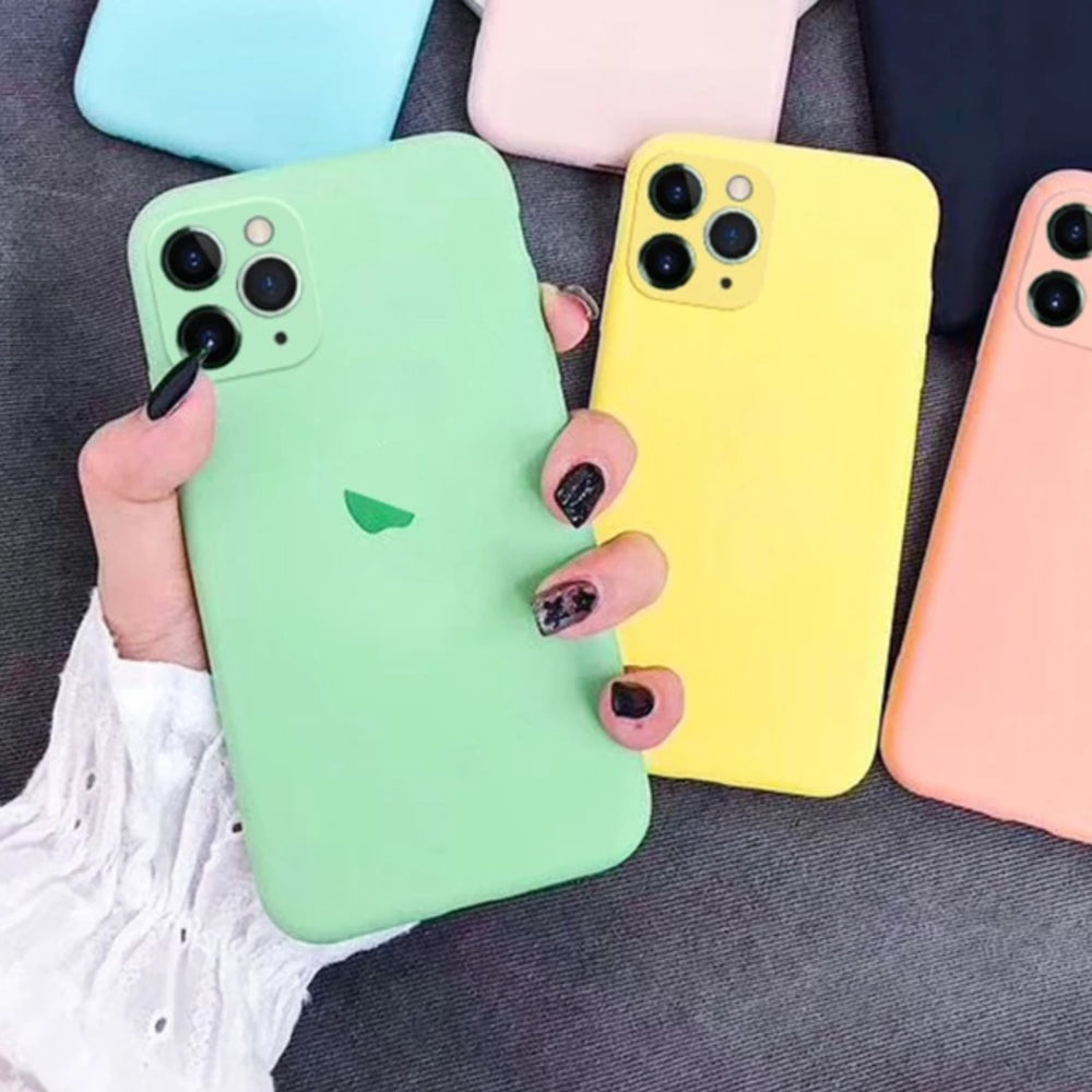iPhone 11 Liquid Silicone Logo Case