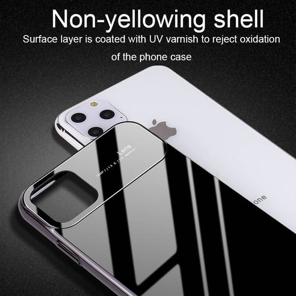 Polarized Lens Glossy Edition Smooth Case Cover For iPhone 11 Series