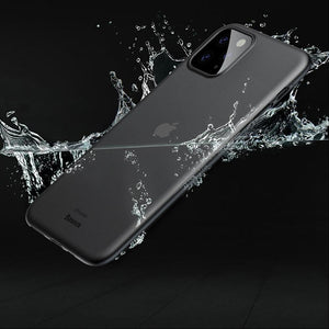 Ultra-Thin Matte Paper Back Case Cover For iPhone 11 Pro