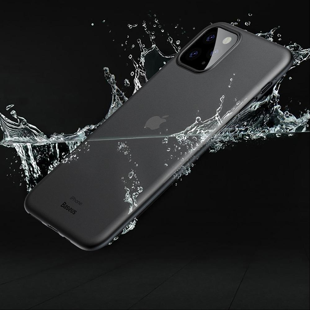 iPhone 11 Series (3 in 1 Combo) Matte Paper Back Case + Tempered Glass + Camera Lens Guard