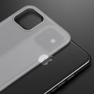 Ultra-Thin Matte Paper Back Case Cover For iPhone 11 Pro Max