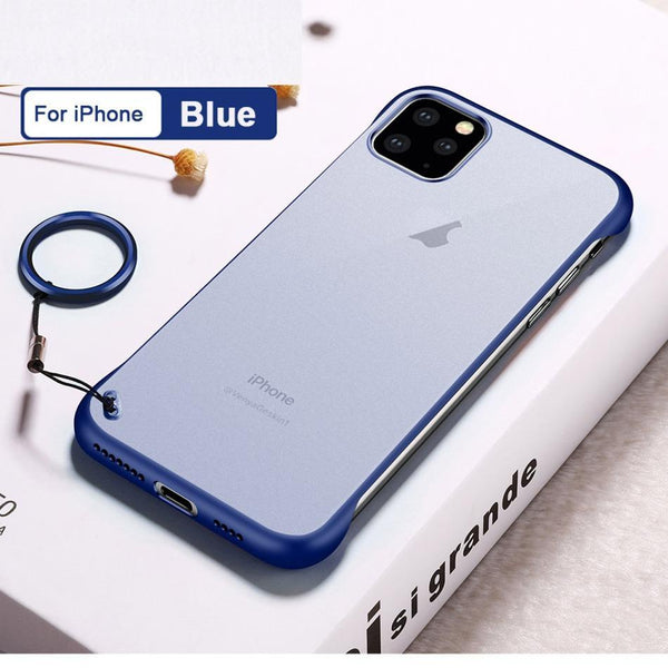 iPhone 11 Pro Max  Cover Luxury Frameless Transparent Case