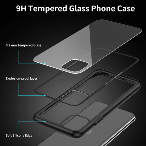 Glassium Protective Series Case Cover For iPhone 11 Pro Max