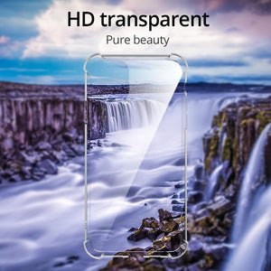 iPhone 11 Pro Max Cover Anti-Knock TPU Transparent Case