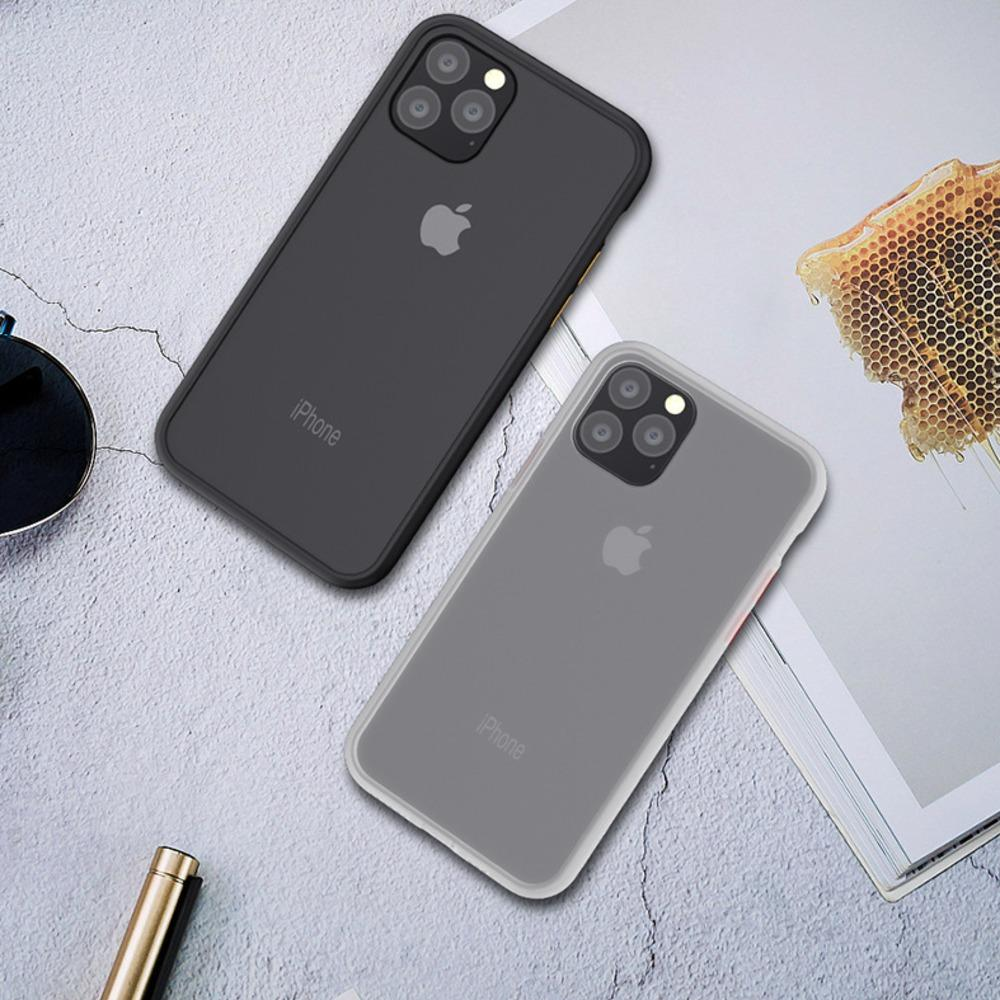 iPhone 11 Series Luxury Shockproof Matte Finish Case