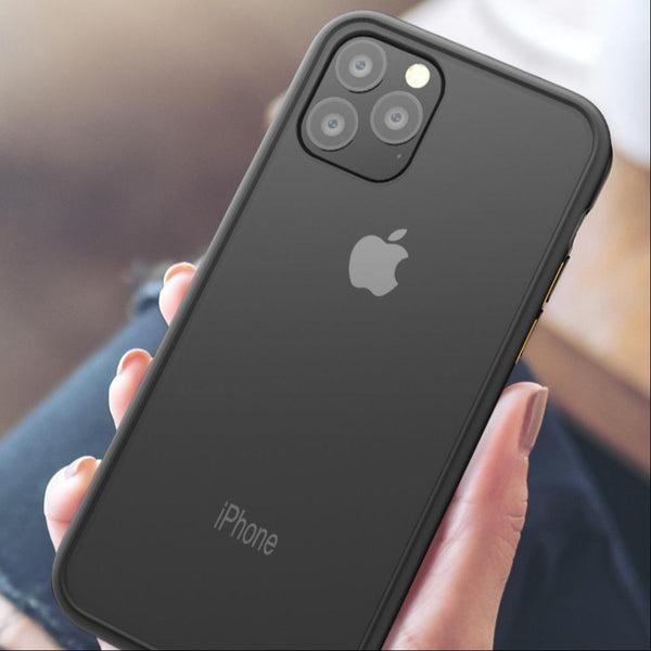 Luxury Shockproof Matte Finish Case Cover For iPhone 11 Pro Max