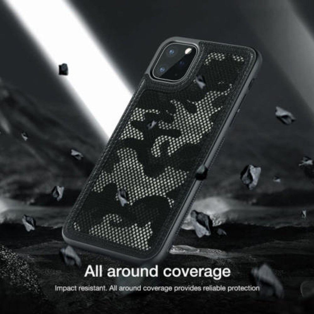 iPhone 11 Pro Cover Camouflage Pattern Cloth Case