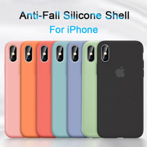 iPhone XS Max Original Silicone Logo Case