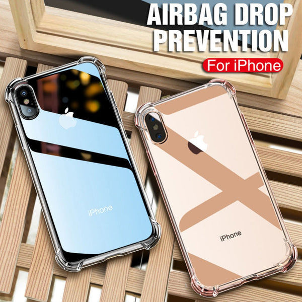 MK ® iPhone XS Max King Kong Anti Shock TPU Transparent Case