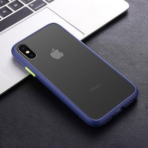iPhone XR Luxury Shockproof Matte Finish Case