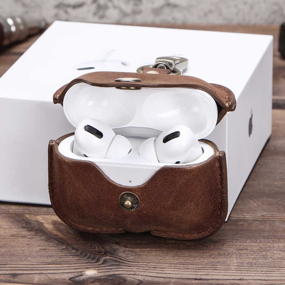 Genuine Leather Case for AirPods Pro