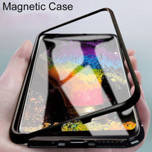 Load image into Gallery viewer, Apple Series Electronic Auto-Fit Magnetic Transparent Glass Case