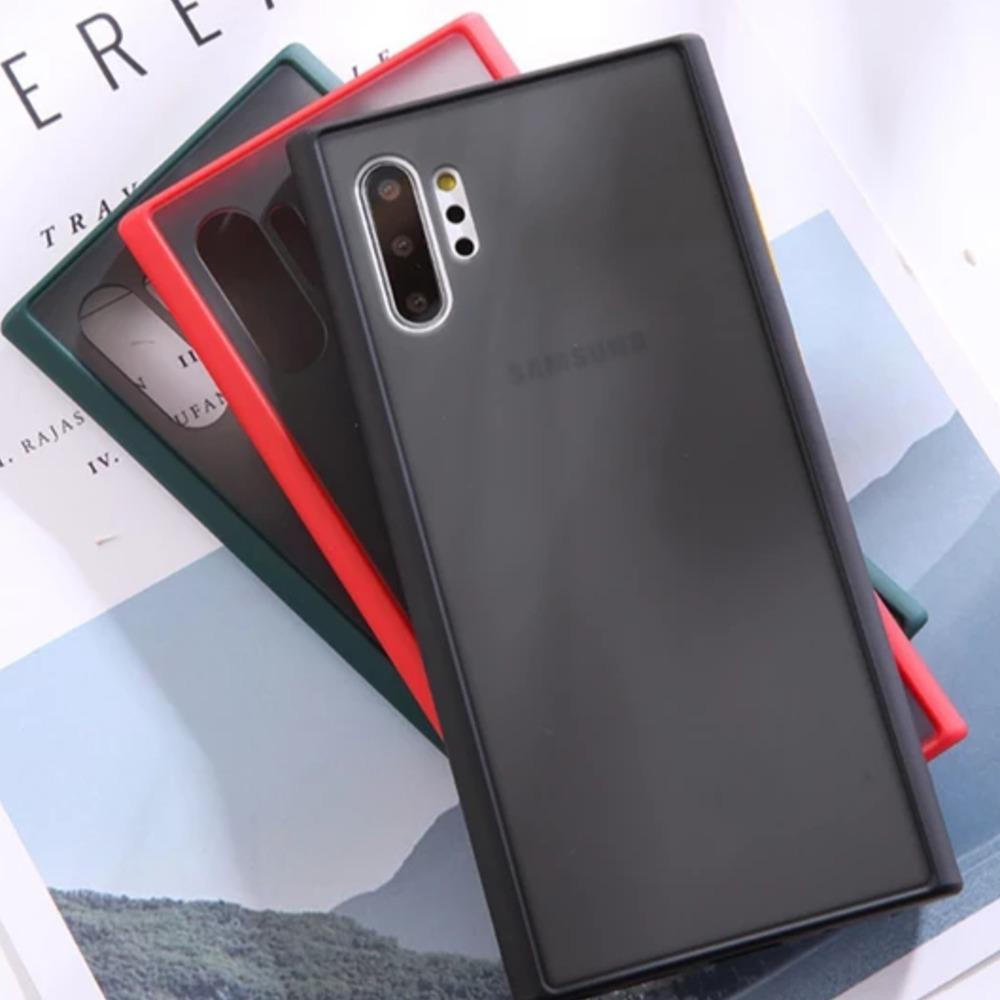 Galaxy Note 10 Plus Luxury Shockproof Matte Finish Case