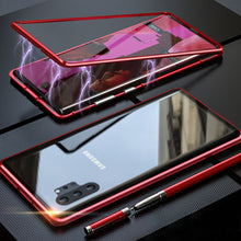 Load image into Gallery viewer, Galaxy Note 10 Plus Electronic Auto-Fit Magnetic Glass Case