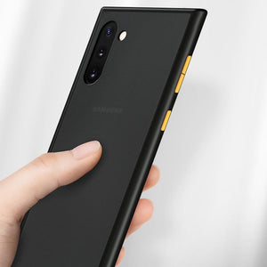Load image into Gallery viewer, Galaxy Note 10 Plus Luxury Shockproof Matte Finish Case