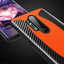 Load image into Gallery viewer, OnePlus 8 Pro Mclaren Style Carbon Leather Texture Case