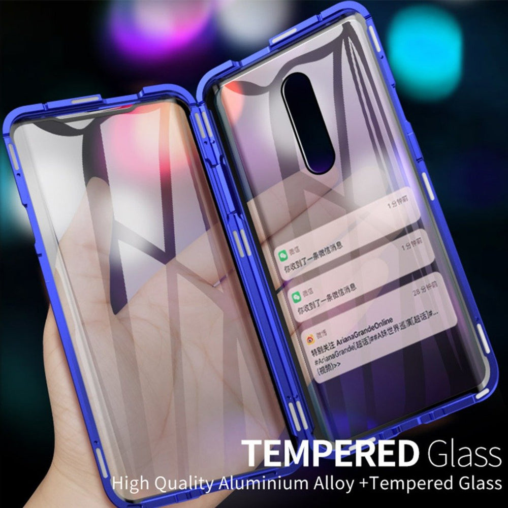 OnePlus 6T Electronic Auto-Fit (Front+ Back) Glass Magnetic Case