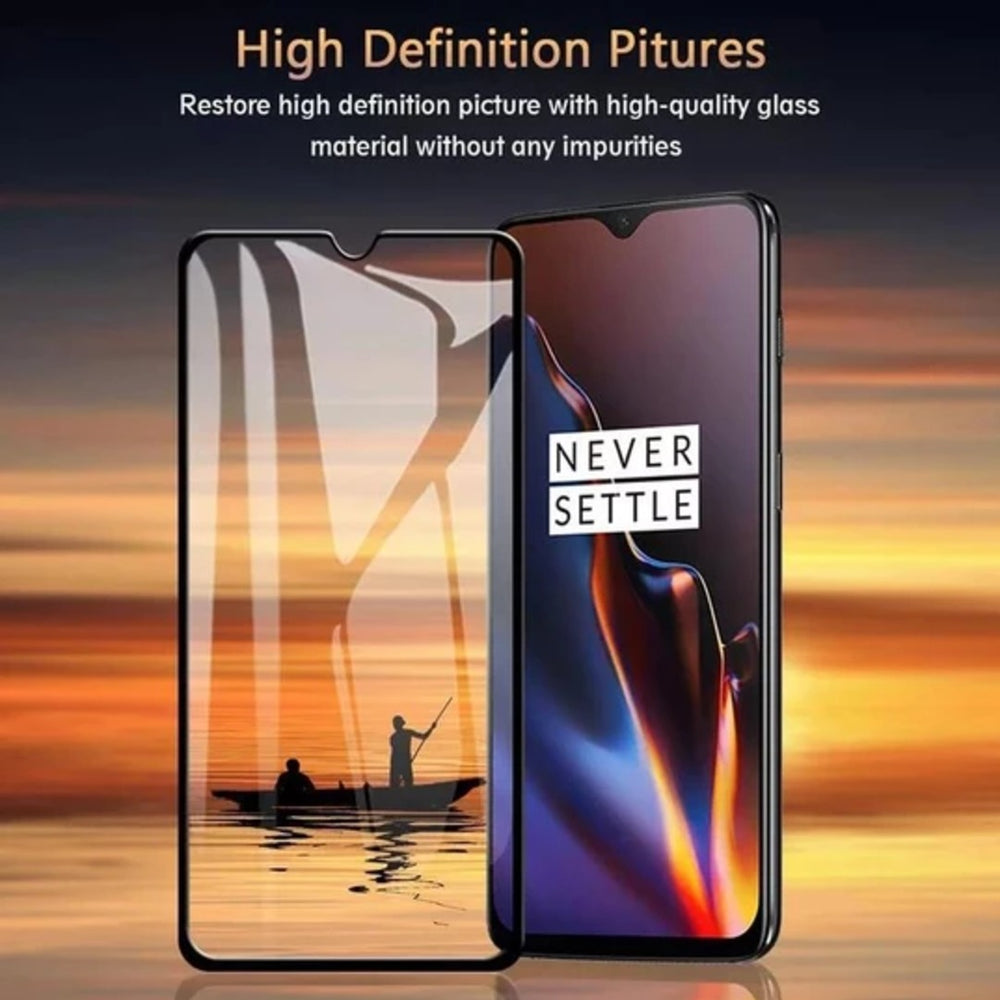 OnePlus 6T Ultra HD Full Coverage Tempered Glass