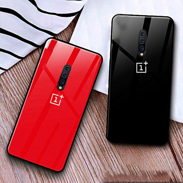 OnePlus 7 pro Cover Special Edition Logo Soft Edge Case  (Cover Only)