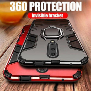 OnePlus 7 Pro Ring Buckle Kickstand Case