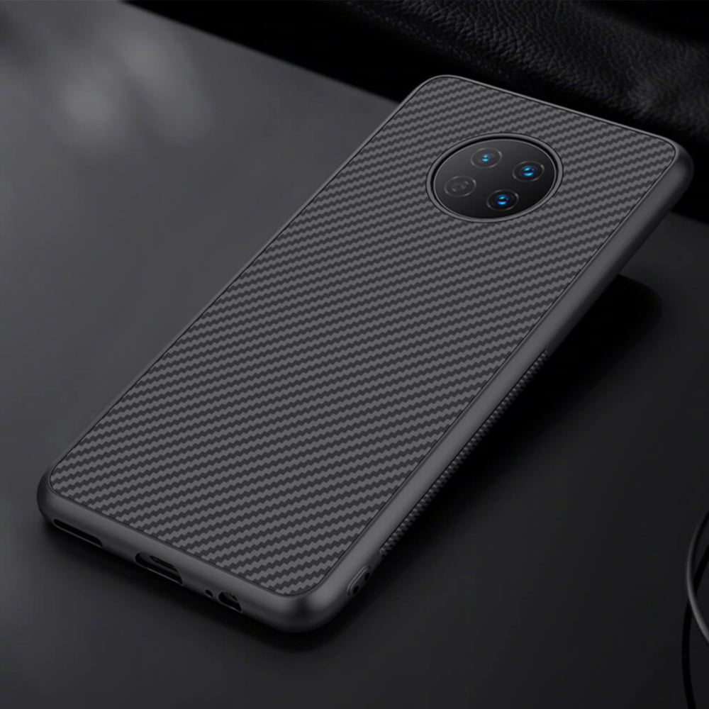 Load image into Gallery viewer, OnePlus 7T  Carbon Fiber Premium Armour Case