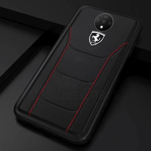 Ferrari ® OnePlus 7T Genuine Leather Crafted Limited Edition Case