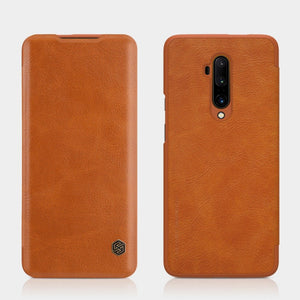 Load image into Gallery viewer, OnePlus 7T Pro Genuine QIN Leather Flip Case