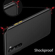 Load image into Gallery viewer, OnePlus Nord Matte Silicone Shockproof Armor Case