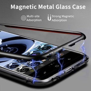 Galaxy S10e Electronic Auto-Fit Magnetic Glass Case