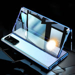 Galaxy S20 Electronic Auto-Fit (Front+ Back) Glass Magnetic Case