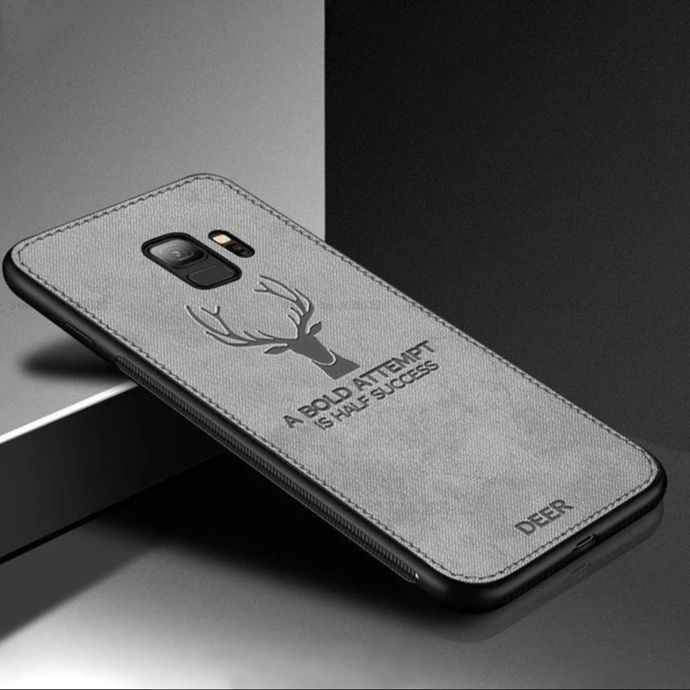 Load image into Gallery viewer, Galaxy S9  Deer Pattern Inspirational Soft Case