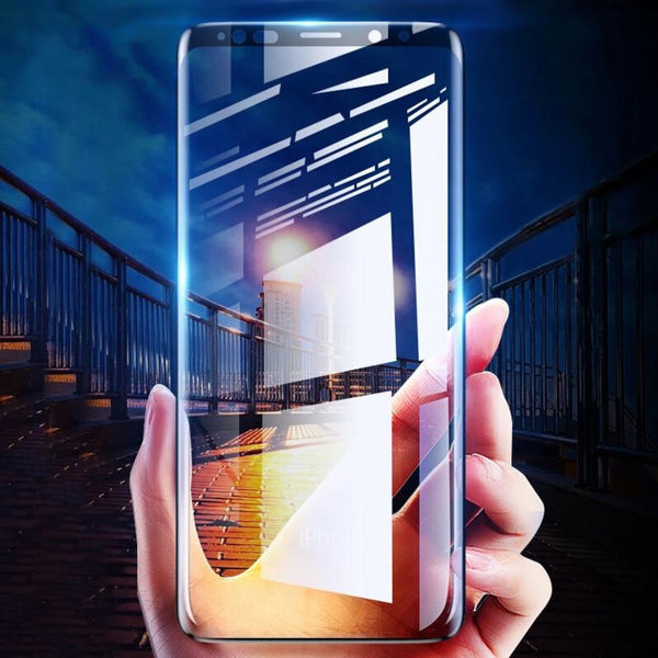 Galaxy S9 Ultra HD Full Coverage Tempered Glass