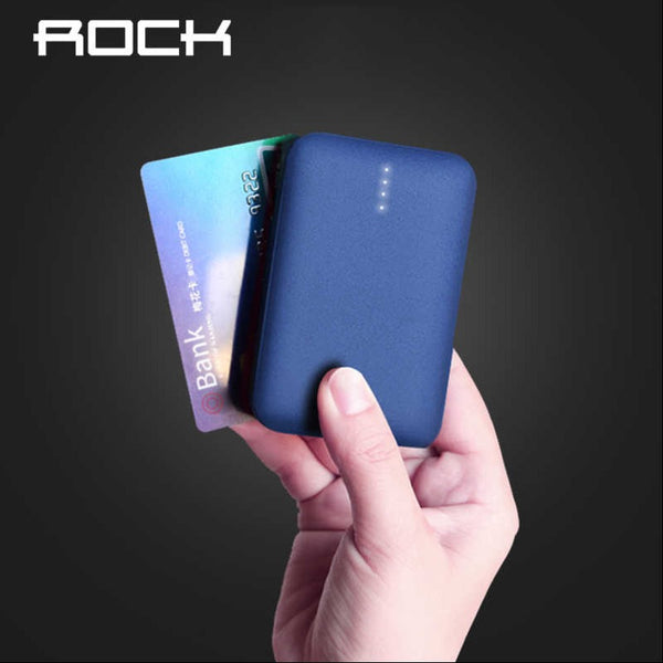 ROCK ® 10000mAh Mini Portable Power Bank