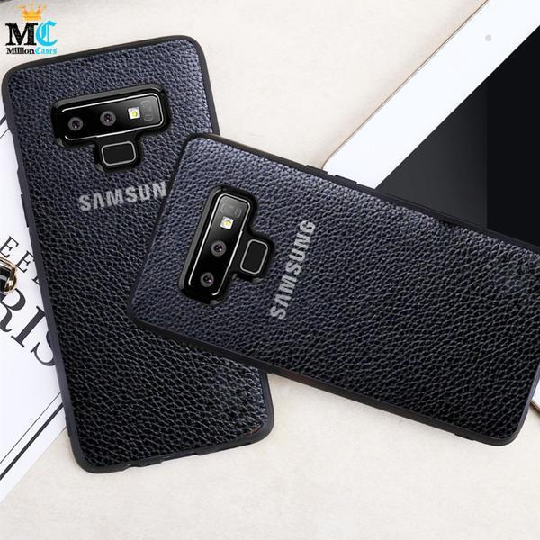 Galaxy Note 9 Genuine Leather Back Case