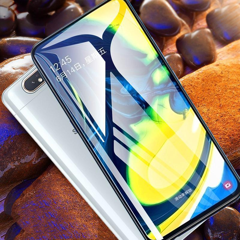 Galaxy A80  Ultra HD Full Coverage Tempered Glass