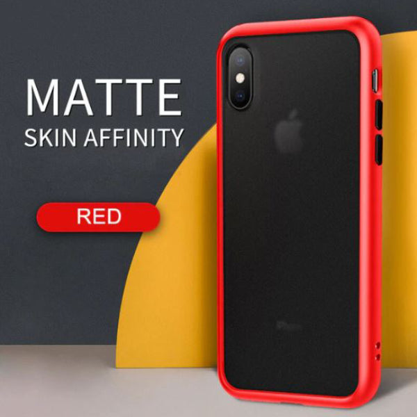 iPhone XS Max Luxury Shockproof Matte Finish Case