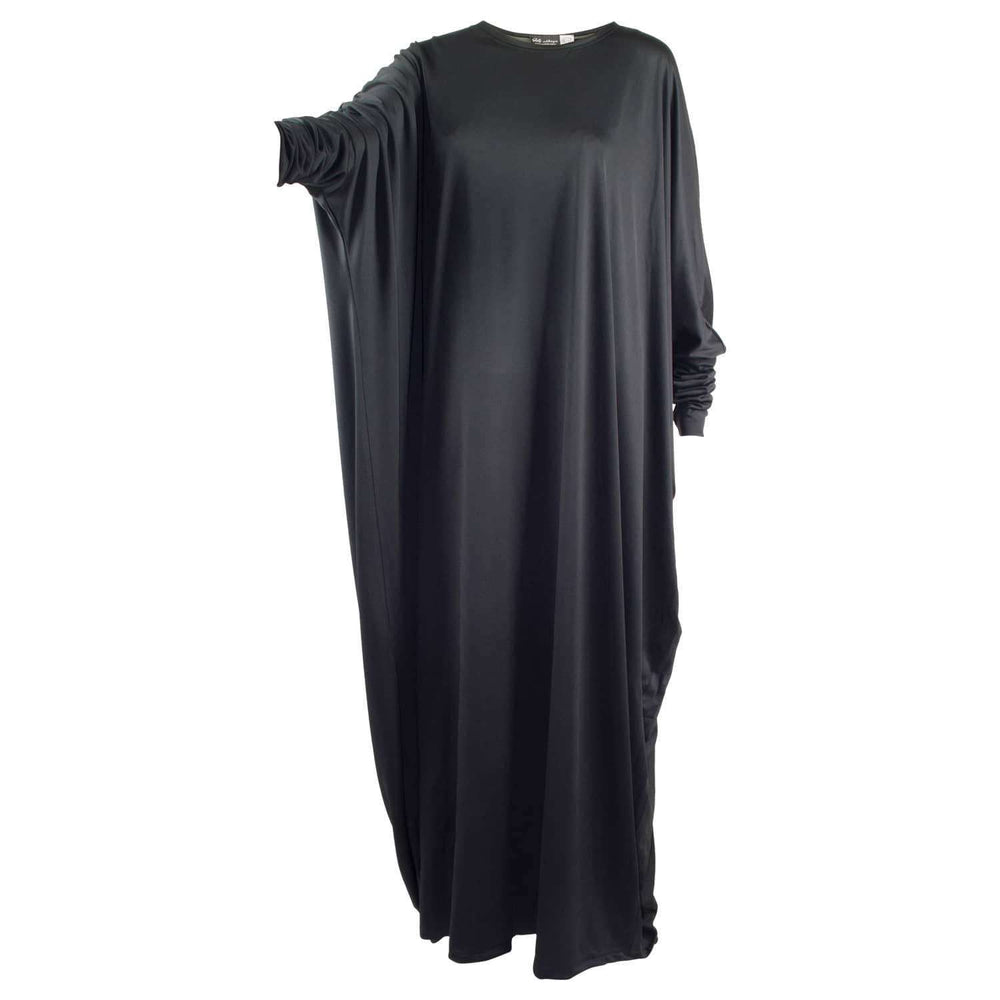 All Black x Butterfly Abaya - HS ABAYA